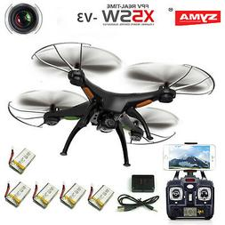 Syma X5SW Wifi FPV 2.4G RC Quadcopter Drone with HD Camera +