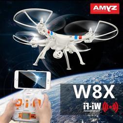 Syma X8W 4CH Gyro RC Quadcopter Explorers Drone WiFi FPV 2MP