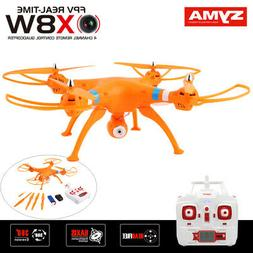 Syma X8W 2.4Ghz 4CH RC Headless FPV  Quadcopter with Wifi Ca