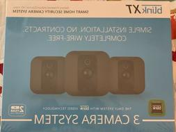 Blink XT 3-Pack Wireless HD Weatherproof Wi-Fi Cameras w/ Ni